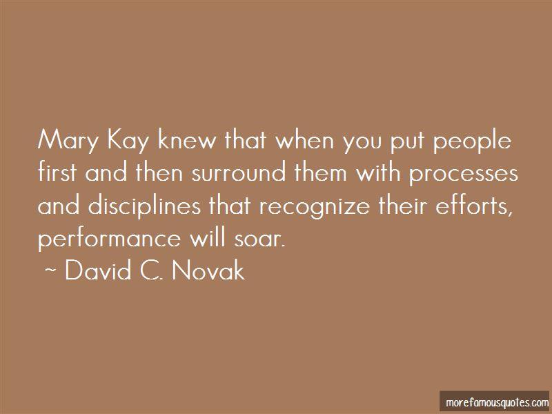 David C. Novak Quotes