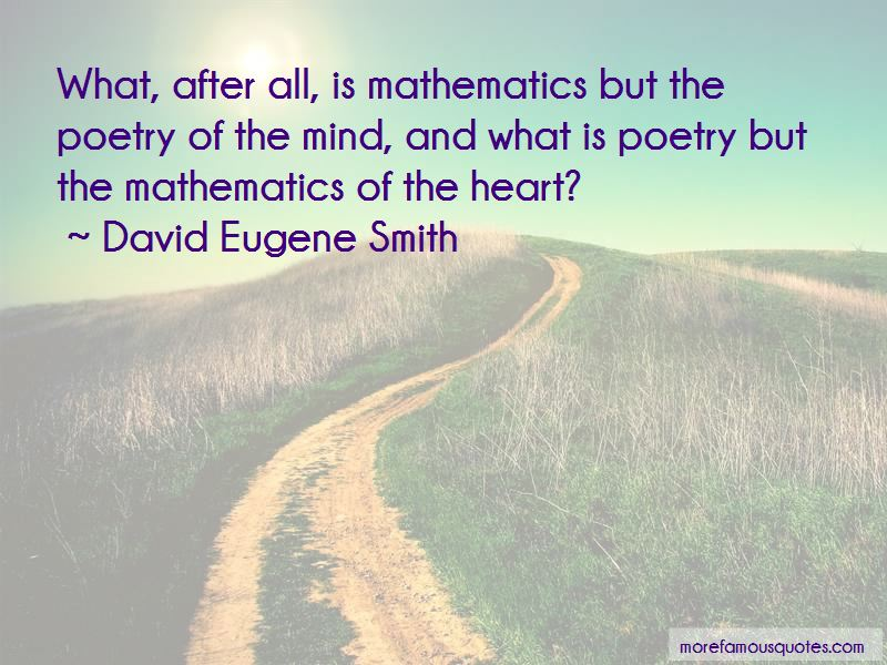 David Eugene Smith Quotes Pictures 2