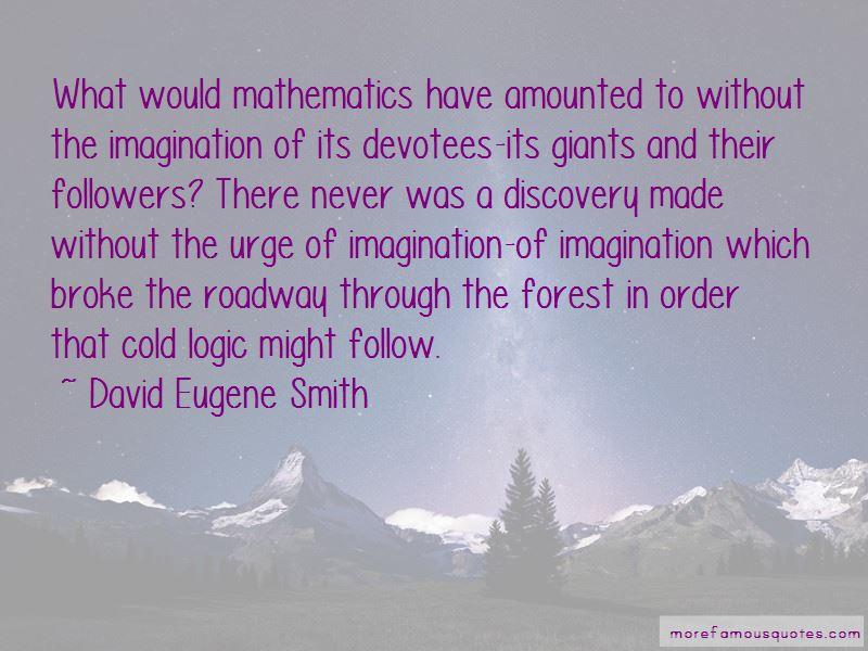 David Eugene Smith Quotes
