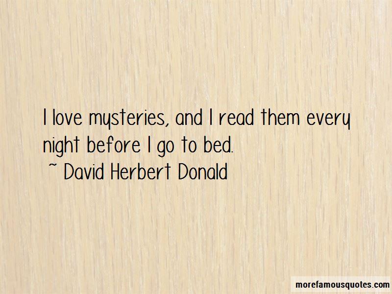 David Herbert Donald Quotes Pictures 2