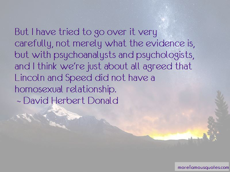 David Herbert Donald Quotes Pictures 3