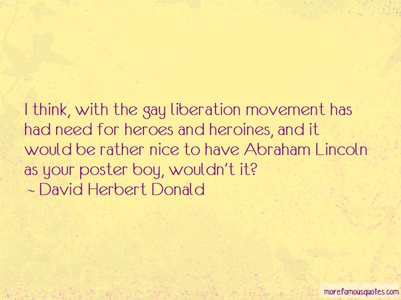 David Herbert Donald Quotes