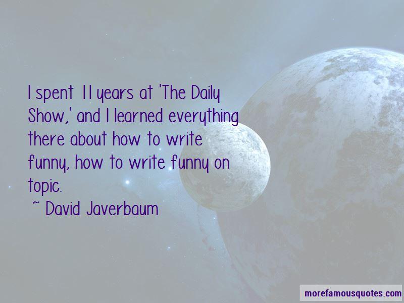 David Javerbaum Quotes Pictures 4