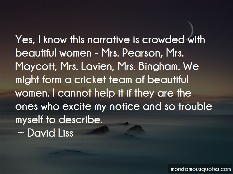 David Liss Quotes Pictures 2