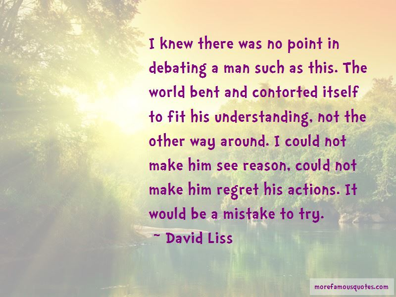David Liss Quotes Pictures 3
