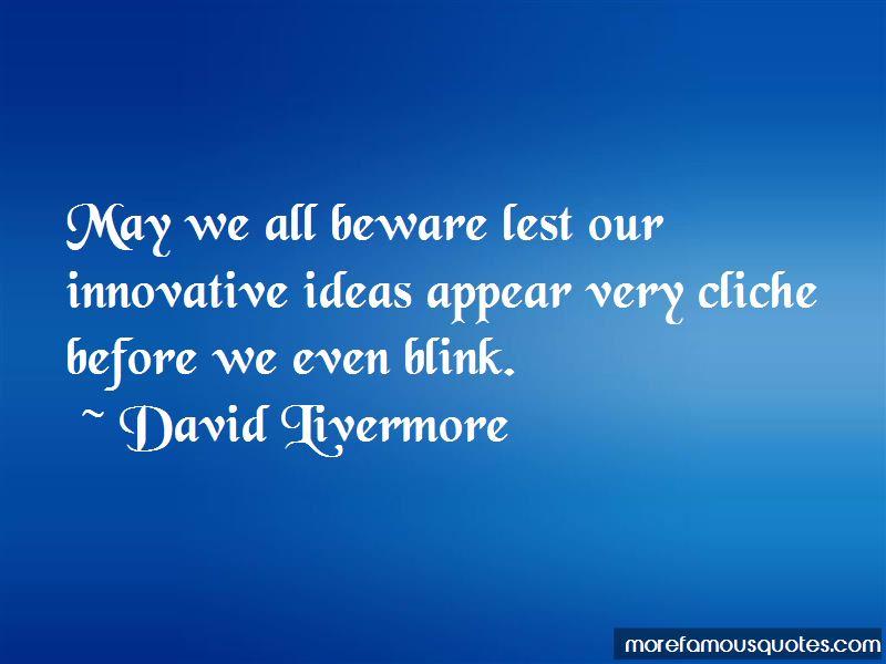 David Livermore Quotes