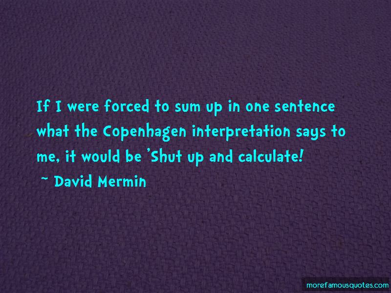 David Mermin Quotes Pictures 2