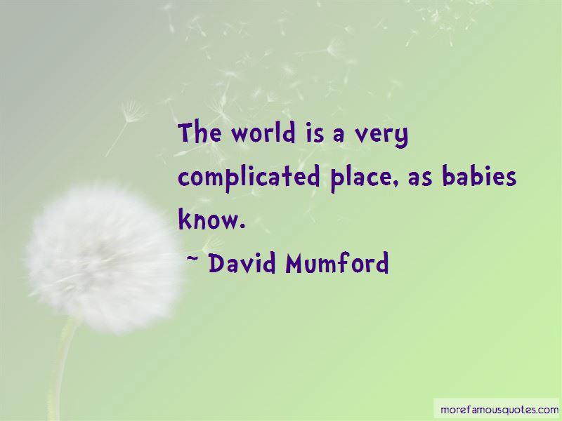 David Mumford Quotes Pictures 2