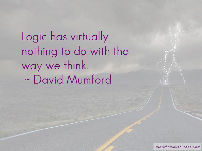 David Mumford Quotes Pictures 3