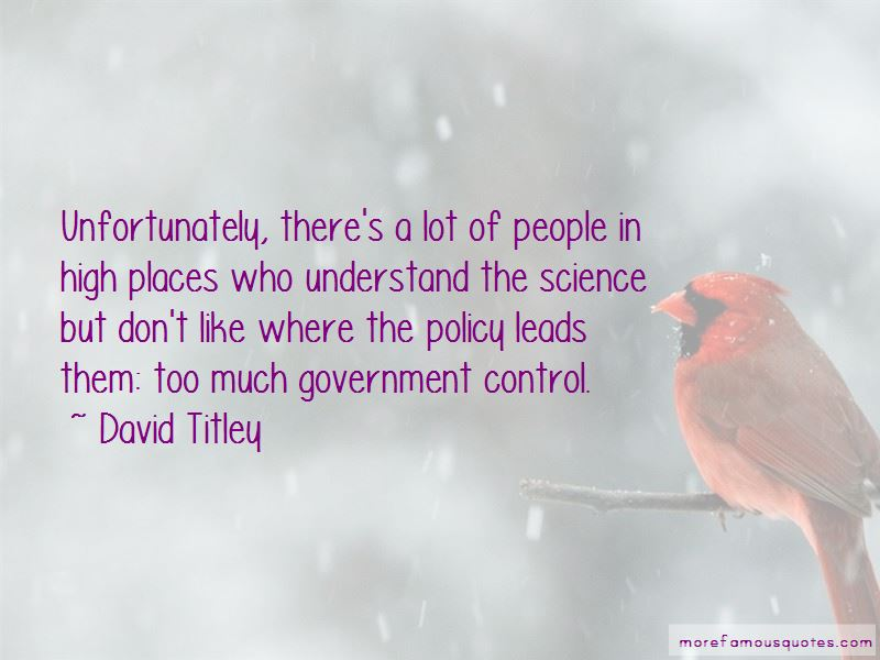 David Titley Quotes