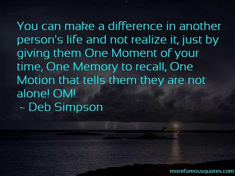 Deb Simpson Quotes Pictures 2