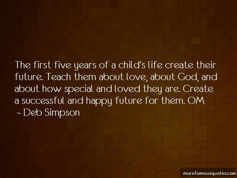 Deb Simpson Quotes