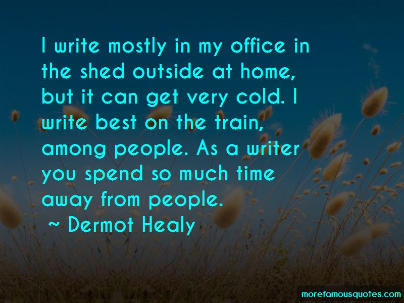 Dermot Healy Quotes Pictures 2