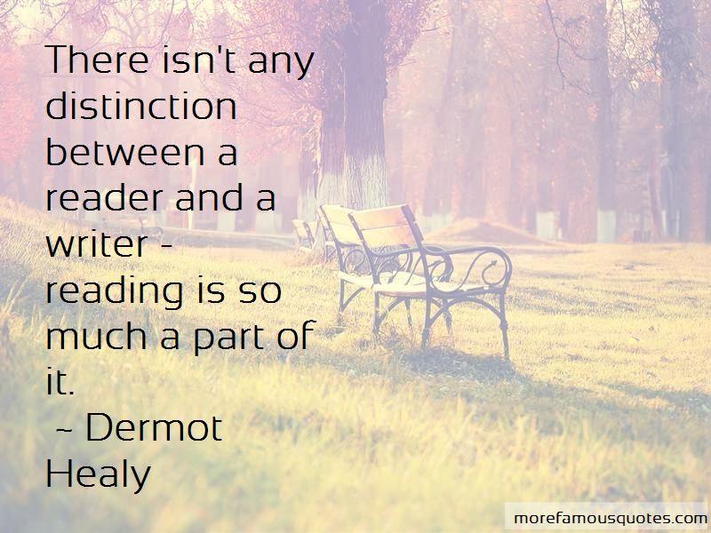 Dermot Healy Quotes