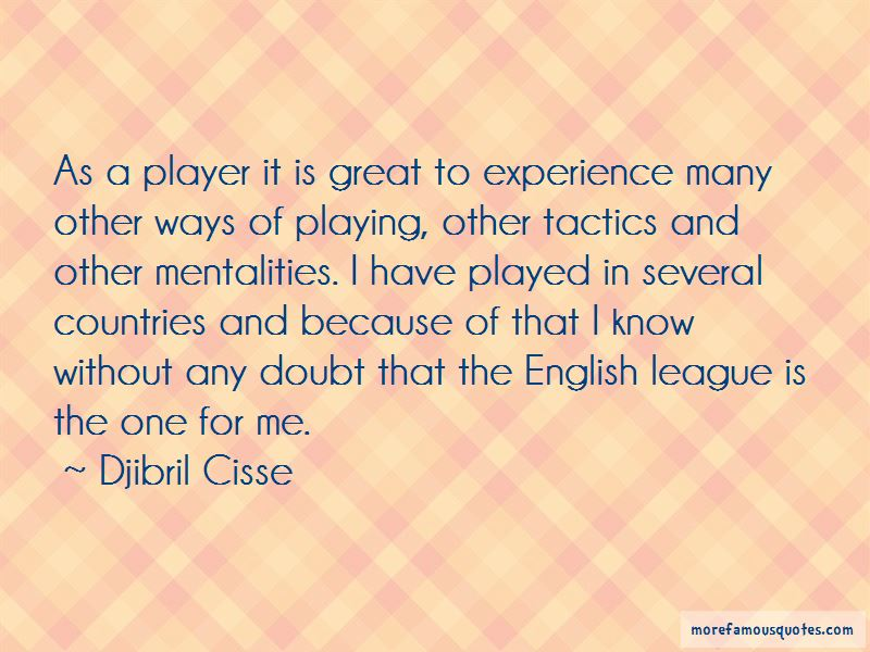 Djibril Cisse Quotes Pictures 2