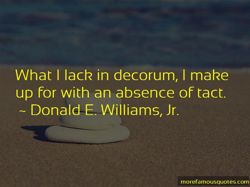 Donald E. Williams, Jr. Quotes Pictures 3