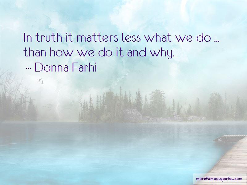 Donna Farhi Quotes Pictures 2