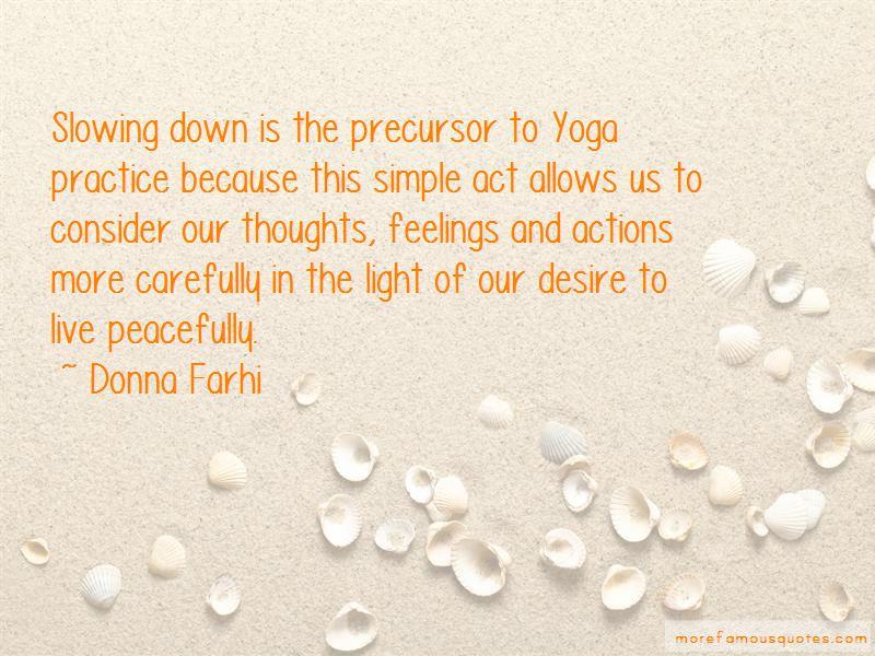 Donna Farhi Quotes Pictures 3