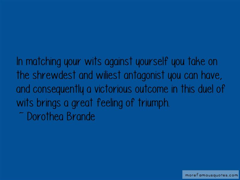 Dorothea Brande Quotes Pictures 2