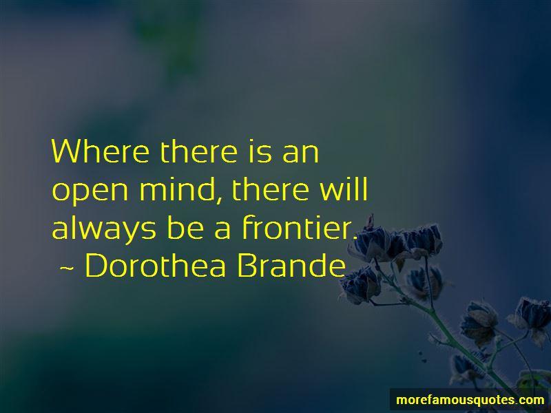 Dorothea Brande Quotes