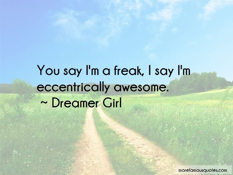 Dreamer Girl Quotes Pictures 2