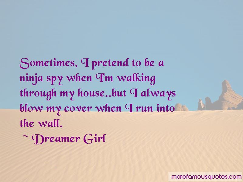 Dreamer Girl Quotes