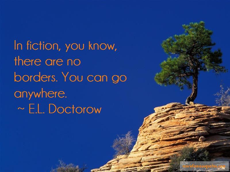 E.L. Doctorow Quotes Pictures 4