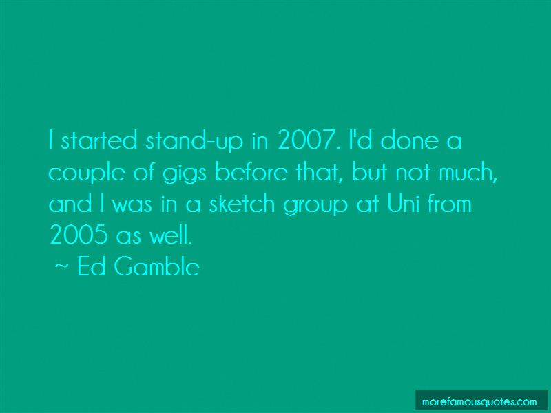 Ed Gamble Quotes Pictures 2