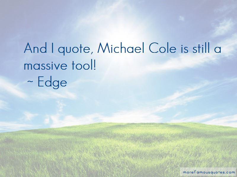 Edge Quotes Pictures 4