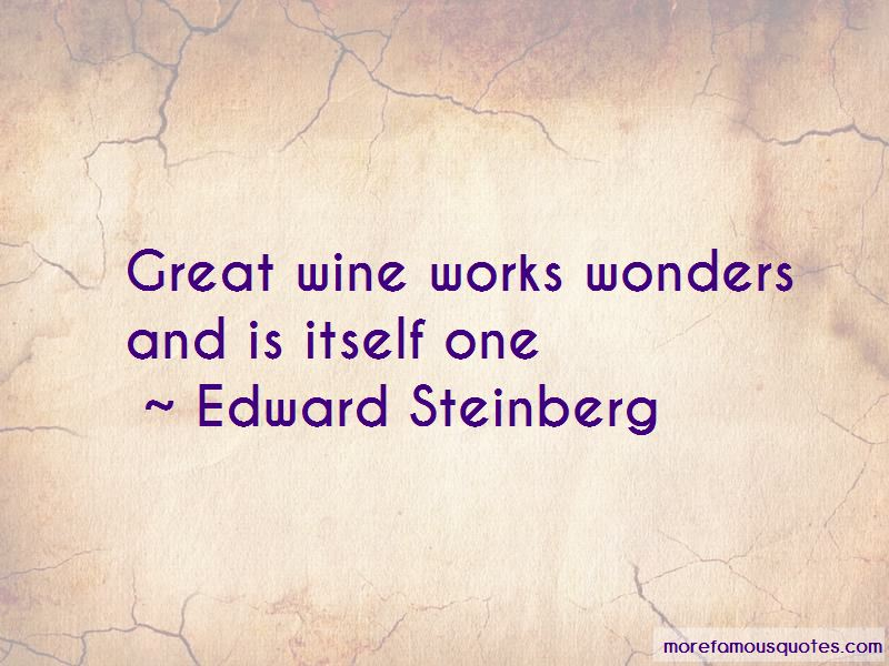 Edward Steinberg Quotes