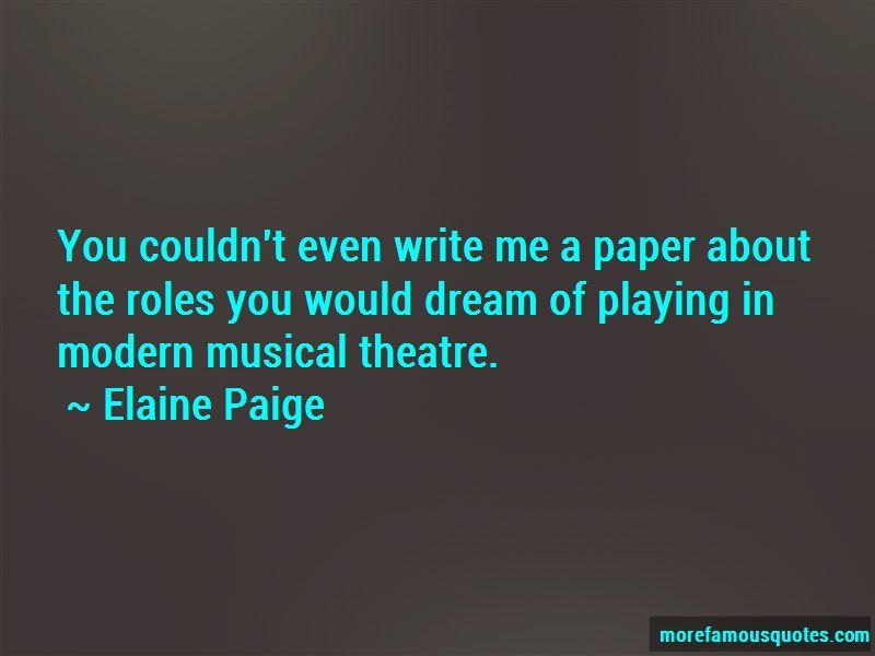 Elaine Paige Quotes Pictures 2