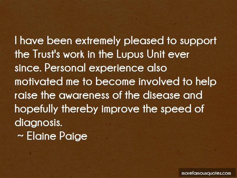 Elaine Paige Quotes