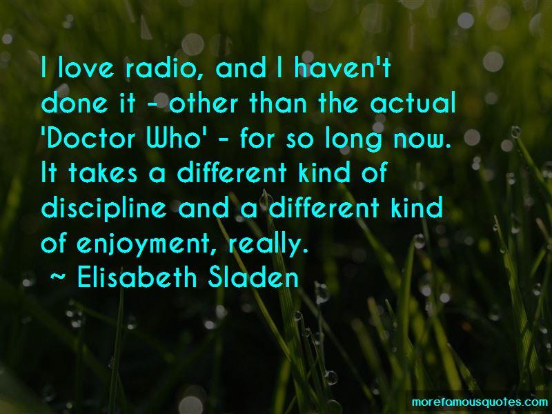 Elisabeth Sladen Quotes Pictures 3