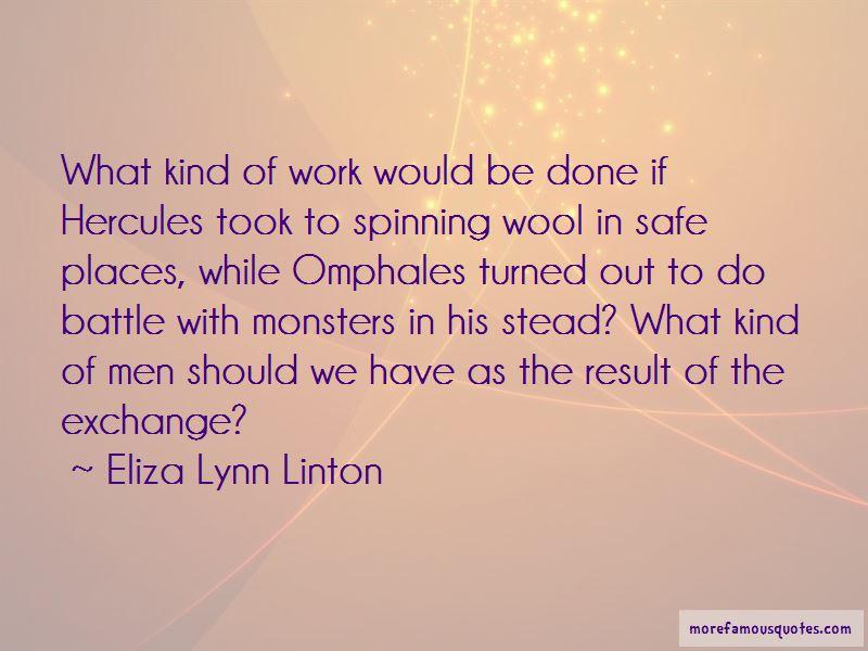 Eliza Lynn Linton Quotes