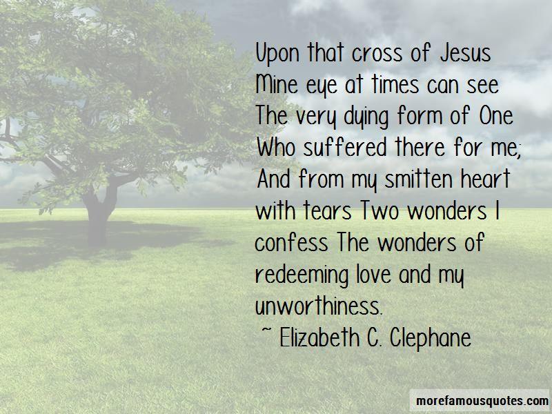 Elizabeth C. Clephane Quotes