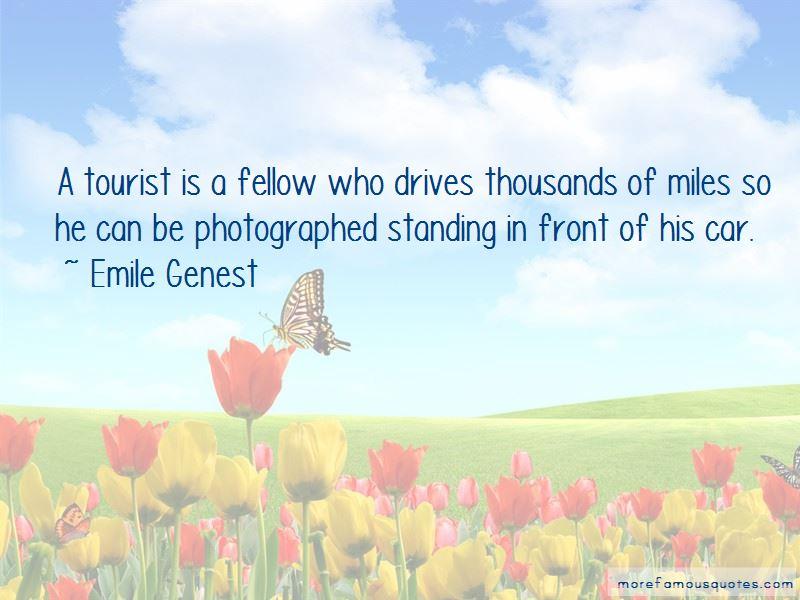 Emile Genest Quotes