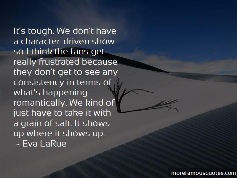 Eva LaRue Quotes