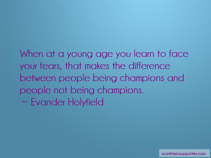 Evander Holyfield Quotes Pictures 2