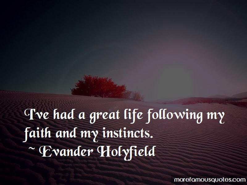 Evander Holyfield Quotes Pictures 4