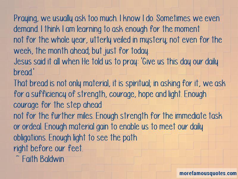 Faith Baldwin Quotes Pictures 2