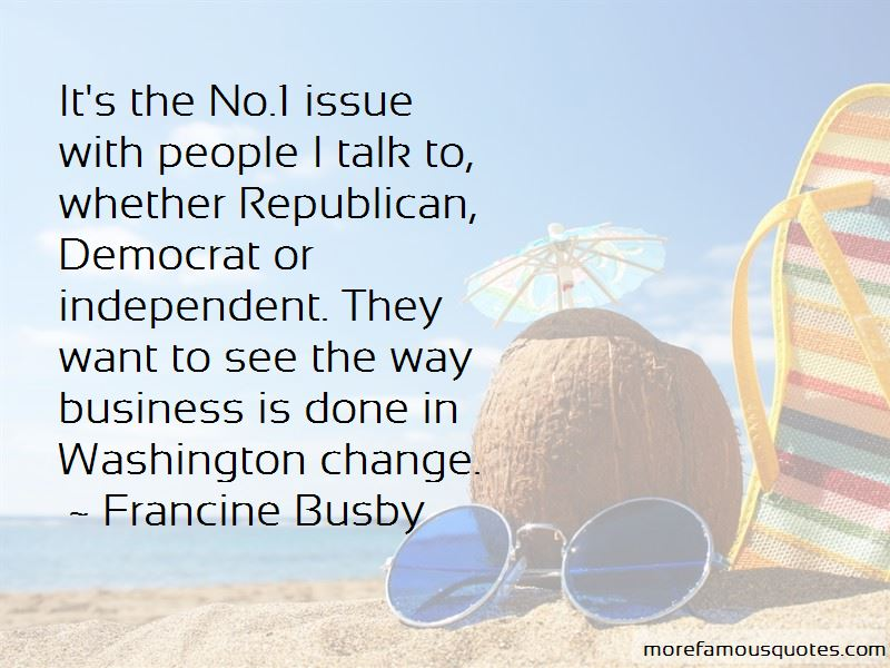 Francine Busby Quotes Pictures 2