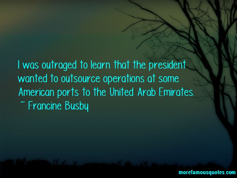 Francine Busby Quotes
