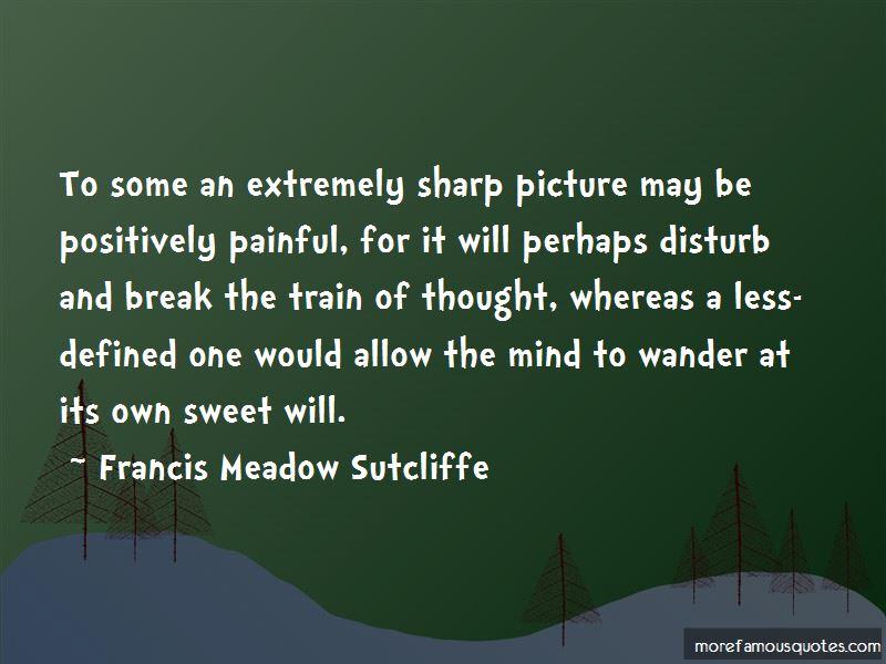 Francis Meadow Sutcliffe Quotes