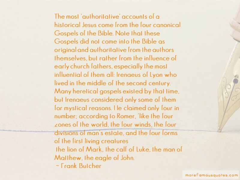 Frank Butcher Quotes