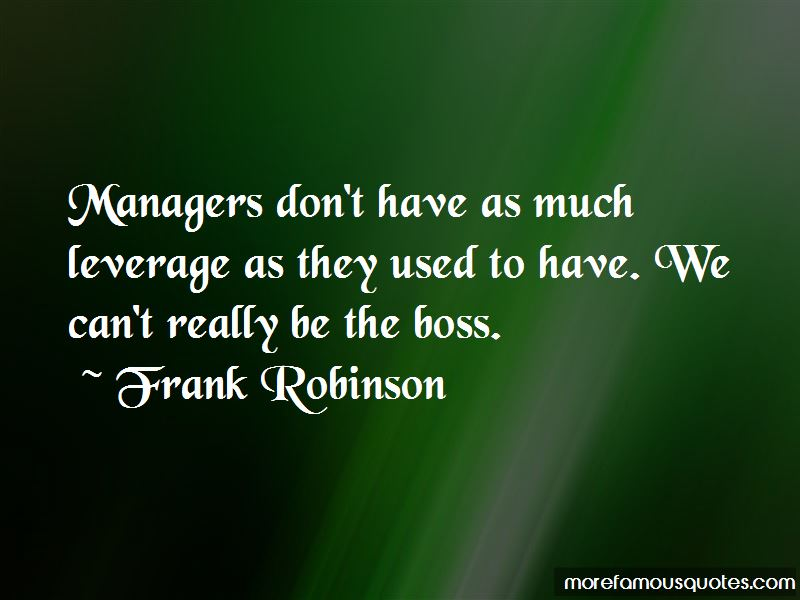 Frank Robinson Quotes Pictures 3