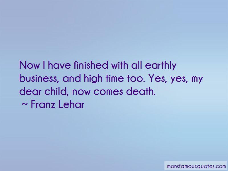 Franz Lehar Quotes