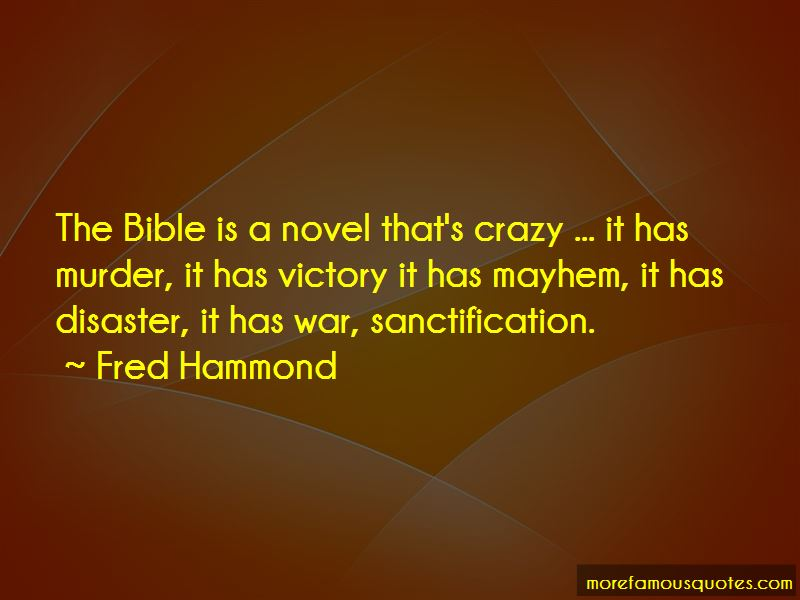 Fred Hammond Quotes Pictures 2