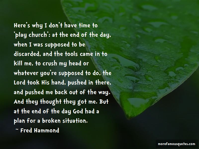 Fred Hammond Quotes Pictures 3