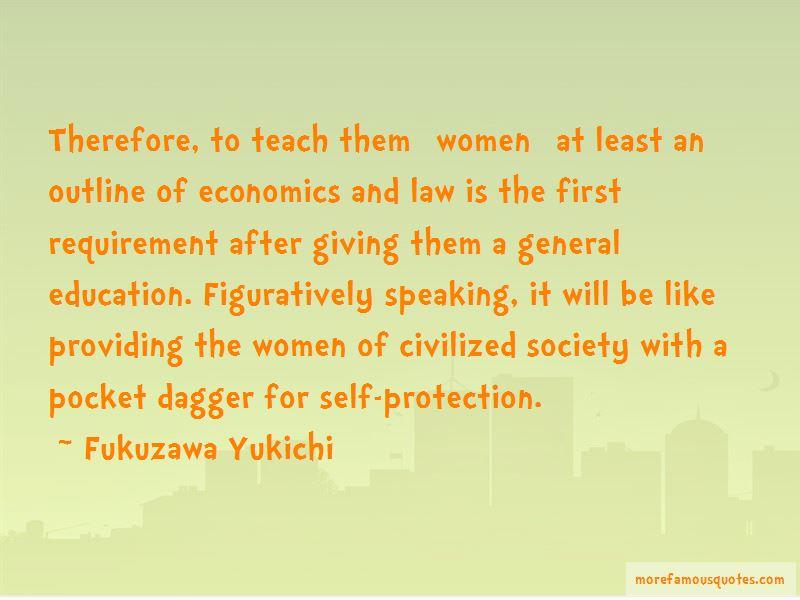 Fukuzawa Yukichi Quotes