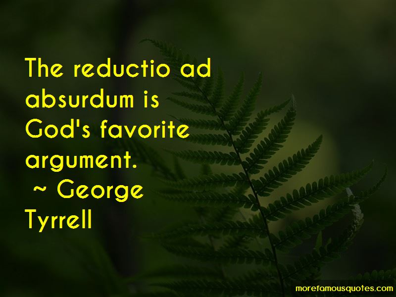 George Tyrrell Quotes